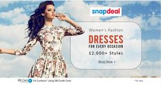 Women's Fashion!! Dresses For Every Occasion Over 12,000 + Styles Happy Shopping @ http://goosedeals.com/home/details/snapdeal/134841.html