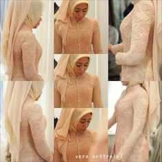 Vera Kebaya - Indonesia Vera Kebaya, Kebaya Lace, Kebaya Dress, Baju Kurung Lace, Beautiful Arab Women, Indonesian Kebaya, Kebaya Wedding, Modest Fashion Hijab, Kebaya Muslim