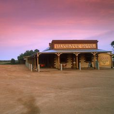 Typical Old Fashioned Australian Station Building