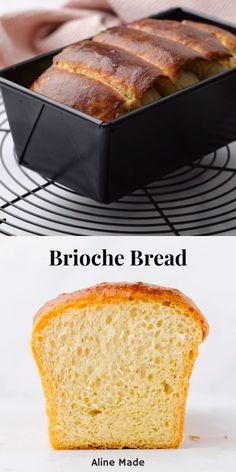 Best Homemade Bread Recipe, Healthy Bread Recipes, Fun Easy Recipes, Mexican Food Recipes, Butter Brioche, Köstliche Desserts, Delicious Desserts, Yummy Food, Recipes