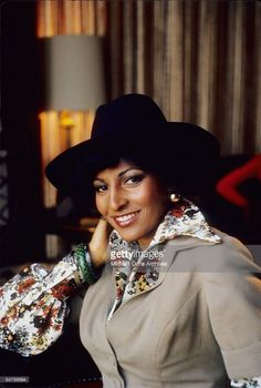 Actress Pam Grier poses for a photo on December 19, 1973 in Los Angeles, California.