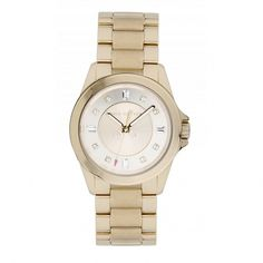 Juicy Couture Ladies' Gold Plated Stella Watch 1901035 Gold Plated Bracelets, Rich Girl, World Of Fashion, Lady, Juicy Couture, Gold Watch, Bracelet Watch, Perfume, Watches