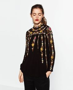 PLUMETIS TUNIC-TRENDING PICKS-WOMAN | ZARA United States