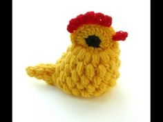 Knitting Patterns Toys Really Cute Crocheted Chick – Hackovana Slepicka Easter Crochet, Cute Crochet, Crochet Baby, Crochet Patterns Amigurumi, Knitting Patterns, Knitted Stuffed Animals, Spiral Crochet, Crochet Chicken, Crochet Decoration