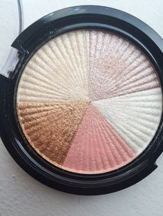 "OFRA Cosmetics Baked Highlight in ""Beverly Hills"" is a gorgeous 5-color highlight that is SUPER pigmented, and gives a gorgeous shine to the cheeks! // www.CandidlyKelseyBlog.com"