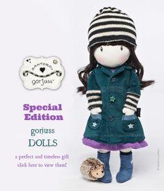 Gorjuss Dolls. Shop the collection here: http://www.santoro-london.com/shop/collections/gorjuss/