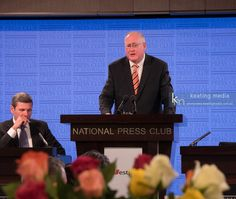 Tony Nutt Federal Director of the Liberal Party of Australia at the National…