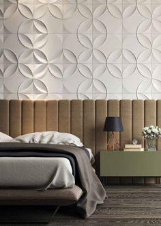 Bed Headboard Design, Bedroom Furniture Design, Modern Bedroom Design, Master Bedroom Design, Master Bedroom Interior, Modern Master Bedroom, Home Decor Bedroom, Wallpaper Design For Bedroom, Living Room Tv Unit Designs