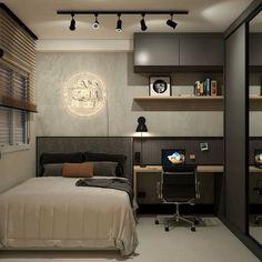 Cómo cambiar de una habitación infantil a juvenil – Puntos clave Small Room Design Bedroom, Bedroom Setup, Apartment Bedroom Decor, Home Room Design, Bed Design, Home Bedroom, Small House Plans, House Rooms, Interior Design