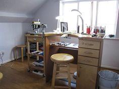 Workbench - Alison Salzman's studio