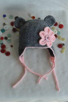 47 meilleures images du tableau Bonnets crochet bébé en 2019   Hat ... 4fea0aed62c