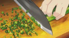 Chopped spring onion - Shokugeki no Soma 15 #AnimeFood  https://www.facebook.com/DeliciousAnimeFood/