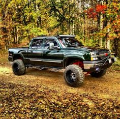 Lifted Chevy Silverado