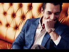 "David Gandy interviewed for GQ Taiwan. ""An Afternoon with David Gandy""  April 2014"