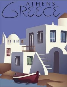 Another vintage greek poster.