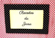 Caderno de Receitas http://juhlemos.blogspot.com.br/2015/03/pedido-entregue-caderno-de-receitas.html