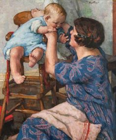 BBC - Your Paintings - Mother and Child