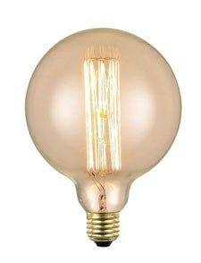 LYS VINTAGE | Kohlefaden Glühbirne ø 125 mm E27 | Shop