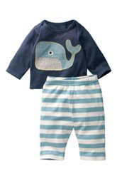 My children's outfits will always have whales on them!