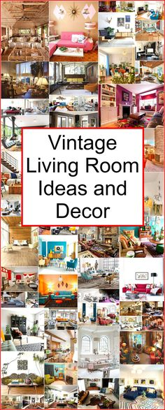 78e974220d5544 Have a ton of fun with these retro living room ideas  Vintage Industrial  Decor