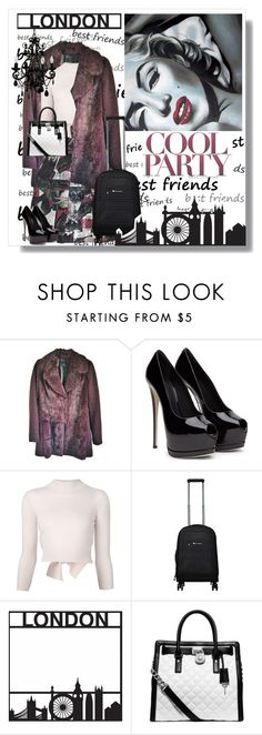 """""""Pack and Go:  London"""" by wreathjar ❤ liked on Polyvore featuring moda, Nanette Lepore, Alexander McQueen, Sherpani, Michael Kors, women's clothing, women, female, woman y misses"""