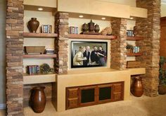fetching sheetrock entertainment center. Entertainment wall in basement p tett egyedi m diafal tletek nappaliba sz s  rdekes ravishing drywall entertainment center The Best 100 Ravishing Drywall Center Image