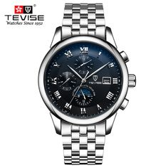 39.19$  Buy now - http://ali1iv.shopchina.info/go.php?t=32750221330 - TEVISE Fashion Casual Mens Watches Top Brand Luxury Business Automatic Mechanical Watch Men Wristwatch Relogio Masculino  #SHOPPING