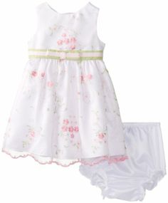 Rare Editions Baby Baby-Girls Infant Organza Floral Embroidered Dress, White, 18 Months Rare Editions,http://www.amazon.com/dp/B00GPIWPXG/ref=cm_sw_r_pi_dp_2VHdtb10CV8YNK95