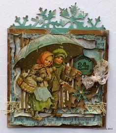 Vintage card Christmas
