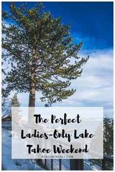 Road Trip to Lake Tahoe, California. Travel in North America.