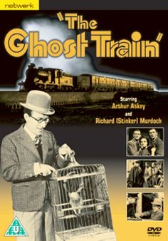 """The 1941 remake of """"The Ghost Train"""" was a comedy thriller starring Arthur """"Ithankyew"""" Askey, Richard """"Stinker"""" Murdoch and Linden Travers. Though based on a 1923 play, it was set in 1940 and the smugglers of the original story were replaced with a cell of Nazi fifth columnists running guns."""
