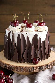 Black Forest Cake. Yummy! 😋😍❤