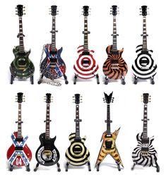 Zakk Wylde's Gibson guitars.