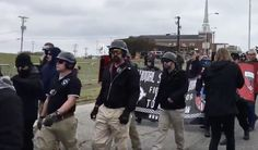 """Police have arrested one member of a white nationalist rally in Shelbyville, Tennessee though officials say confrontations between """"White Lives Matter"""" protesters and counterprotesters remained mostly peaceful. ABC News reported that a young white male was arrested by several police..."""