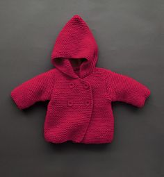 Con capucha capa bebé niño Knits Toddler Knit por TanyasBunnyTots