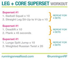 Leg and Core Superset Workout. Give it a try. http://stevemedina.myvi.net