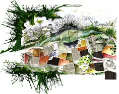 Cartographie sensible - Marion Godiard Space Architecture, Architecture Drawings, City Ville, Urban Concept, Map Projects, How To Make Drawing, Graffiti, Street Art, Sketches