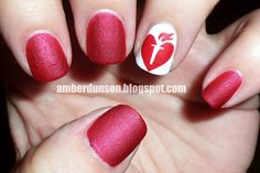 American Heart Association Nails