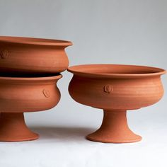 FRANCES PALMER POTTERY No. Six Terra Cotta Urn (each sold separately) -- fill with fruit or glass balls