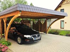 Individuell gefertigte #Carports #aus #Holz - Lieferung und Montage deutschlandweit - gibt es bei Brüning Carport. http://www.bruening-carport.de/produkte/massanfertigung.html