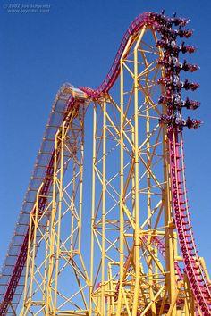 X roller coaster