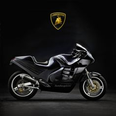 Yes, there was once a Lamborghini motorcycle. In the mid 1980s, Lamborghini owner Patrick Mimran commissioned the French company Boxer Design and the frame specialist Claude Fior to create a limited edition sportbike. It had an aluminum frame and a Kawasaki engine, and depending on whom you ask, between five and forty were built.