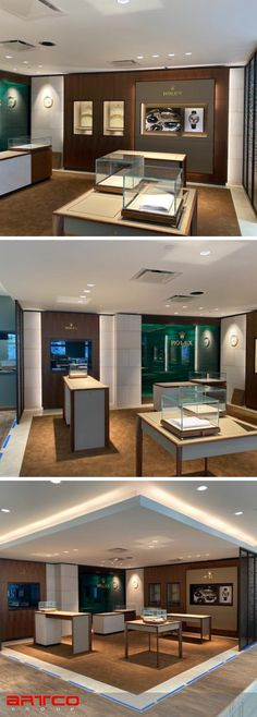 "Manufacture & Design of Store Fixtures by Artco Group.  ""The only way to do great work is to love what you do"" Jewelry Store Design, Jewelry Stores, Store Fixtures, Retail Design, Planners, United States, Group, Mansions, House Styles"