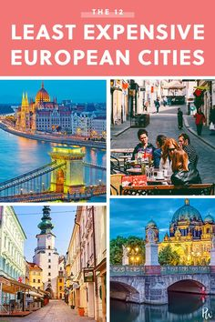 international travel The 12 Least Expensive (but Most Dazzling) European Cities European Vacation, European Travel, Travel Europe, Travel Packing, Cheap European Cities, Backpacking Europe, Travel Around The World, Around The Worlds, Bon Plan Voyage