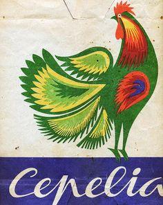 Vintage Polish Packaging Paper