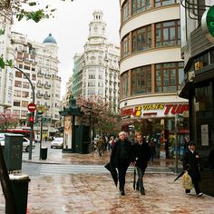 Downtown - Valencia, Spain