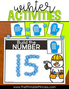 Check out these literacy and math activities that are perfect for Kindergarten during the winter months. This resource is packed FULL of games and interactive, hands-on activities to keep students engaged and learning even on the coldest days. They are easy to prep and use basic classroom supplies such as plastic cubes, mini erasers, play dough, dot cubes, and spinners. They do not include recording sheets which makes them ideal for morning tubs, early finishers, or math and literacy centers.