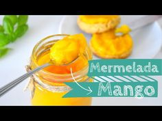 BÁSICOS: MERMELADA DE MANGO SUPER FÁCIL | SIN AZÚCAR (VEG) - YouTube Stevia, Deli, Cantaloupe, Make It Yourself, Fruit, Cooking, Recipes, Food, Youtube