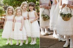 CUTE flower girl dresses @L'Auberge de Sedona   photography by Cameron & Kelly Studio (http://www.cameronkellystudio.com)