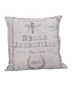 Another great find on #zulily! 'Belle Jardiniere' Pillow by Designs Combined Inc. #zulilyfinds